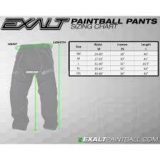 Exalt T4 Paintball Pants Black