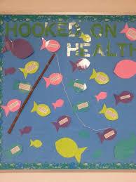 office bulletin board design. hooked on health bulletin board office design o