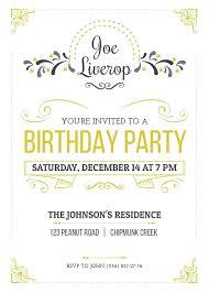 Medium Size Of Invited Template Word Surprise Birthday