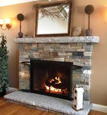 image of stone veneer for fireplace
