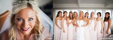 bridal party beautiful makeup and hair