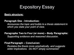 expository essay basic expository essay