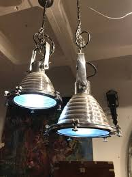 Vintage Lights For Sale Industrial Nautical Ship Light Silver Copper Small Metal