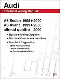 audi a6 electrical wiring manual a6 sedan 1998 2000 a6 avant 1999 Wiring Diagrams For Audi audi a6 electrical wiring manual a6 sedan 1998 2000 a6 avant 1999 2000 allroad quattro 2000 bentley publishers 9780837601663 amazon com books wiring diagram for audio snake