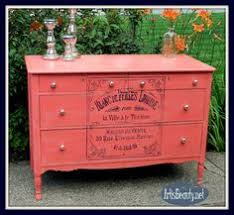 coral furniture. Coral Painted Dresser With French Graphic Furniture L