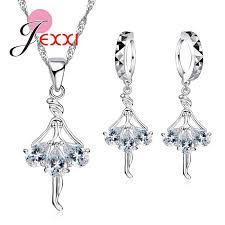 925 Sterling Silver <b>Cubic Zirconia</b> Wedding Jewelry Sets AAA <b>CZ</b> ...