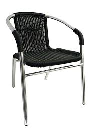 Models Aluminum Stackable Patio Chairs Outdoor Restaurant Furniture For Design
