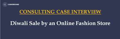 interview case consulting case interview question diwali sale by online fashion