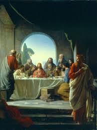 the last supper carl heinrich bloch with judas iscariot leaving to betray to the chief priests