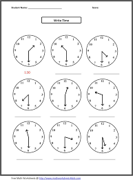 Math Worksheets To Print Out - Printable Pages