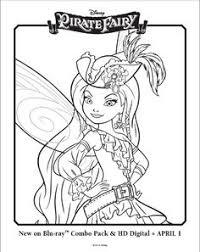 Small Picture Free Tinker Bell and The Pirate Fairy Coloring Pages Picture 5