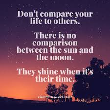 Beauty Comparison Quotes Best of Beauty And Moon Quotes Managementdynamics