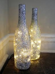 How To Use Wine Bottles For Decoration DIY Lamp from Wine Bottles creative decorating ideas Interior 35