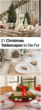 Greek Table Setting Decorations 21 Christmas Table Decorations And Holiday Settings To Die For