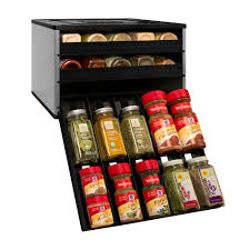 Kitchen Spice Storage Spice Jars Racks Food Storage Kitchen Storage Organization