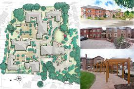 retirement home design. thames dittion, surrey boughton hall retirement complex, home design o