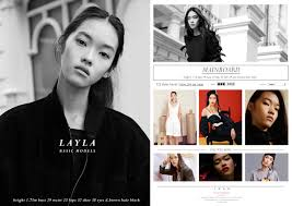 What Is A Comp Card What Is A Comp Card Singapore Models Artistes Management