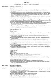 Statistician Resume Samples Velvet Jobs S