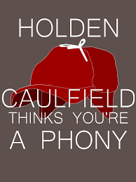holden caulfield thinks you re a phony unisex t shirt by  holden caulfield thinks you re a phony by starryeyes1103