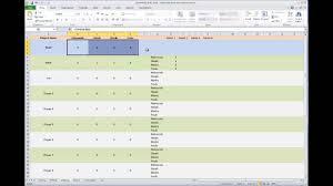 Basketball Stats Excel Template E Z Basketball Stat Sheet Info Video Youtube