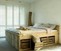 Beds Made From Pallets Diy 20 Pallet Bed Frame Ideas