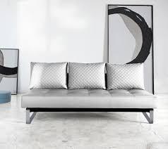 ... Supremax Q Deluxe Sofa Bed   White   Chrome Legs