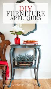 wood furniture appliques. DIY FURNITURE APPLIQUES - SALVAGED INSPIRATIONS Wood Furniture Appliques