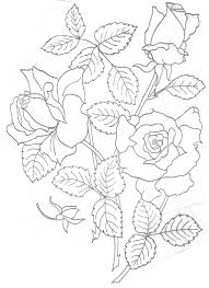 Flower Designs For Pillow Cases Free Hand Embroidery Flowers Patterns Embroidery
