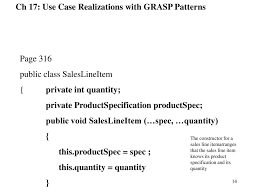 Grasp Patterns Gorgeous Ch 48 Use Case Realizations With GRASP Patterns Ppt Video Online