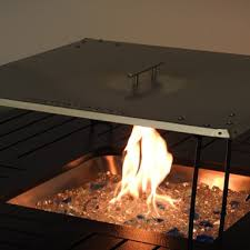 Fire Pit Heat Deflector In Stainless Steel Fire Pit Parts Az Patio Heaters And Replacement Parts