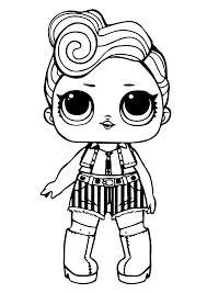 Have your imagination go wild and wide. 40 Free Printable Lol Surprise Dolls Coloring Pages