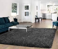 vista living claudia area rug 5ft x 8ft charcoal