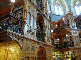 Cool Bookish Places The Library Of Parliament Canada - Houses of parliament interior