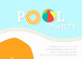 Pool Word Pool Party Flyer Template Inspirational Pool Party Invitation