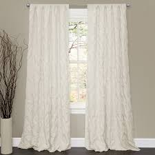 Lush Decor Lake Como Curtains Lush Decor C084 Lake Como Window Curtain The Mine