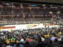 Cavs Seating Chart View Rocket Mortgage Fieldhouse Section 108 Cleveland Cavaliers