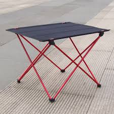 folding table desk camping outdoor picnic 6061 aluminium alloy