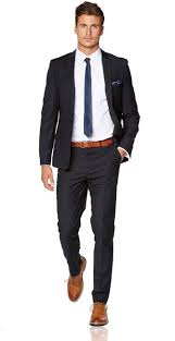Hallensteins Size Chart Navy Skinny Suit Hallensteins Tailored Menswear In 2019