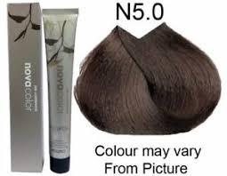 Novacolor Hair Color Chart N5 Hair Color Sbiroregon Org