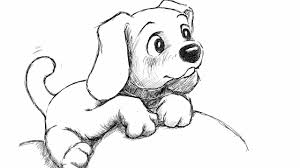 Small Picture How To Draw Puppy Step By For Beginners And Kids In Puppy Drawing