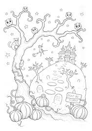 Vintage and current disneyland haunted mansion page 2 photos at daveland. Halloween Haunted Mansion Halloween Adult Coloring Pages