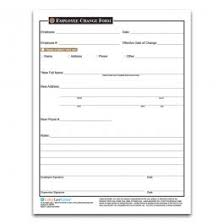 Form For Employee Employee Change Form Hiring Orientation Pre Employment And Hiring