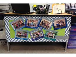 teacher desk decoration this is a cute way to display your past cl students