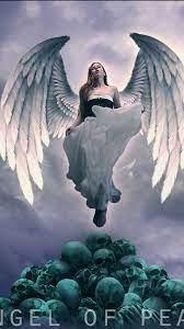 Angel Horror Mobile HJD Wallpaper 4K ...