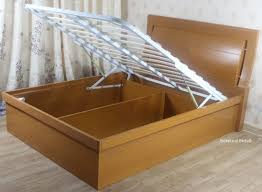 meridian wooden ottoman bed wooden ottoman storage