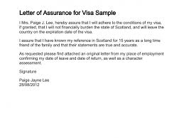 Letter Of Employment Samples Letter Of Assurance