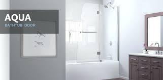 bathtub shower doors shower design beautiful shower doors treated bathtub shower enclosures