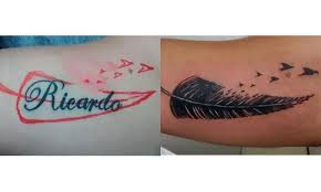 Letters For Tattoos Names Template Gorgeous 48 Ways To Cover Up Tattoos Of Your Ex