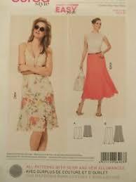 Details About Amazing Oop Burda 6903 Misses Wmns Flared Skirt Trumpet Skirt Pattern 8 24 Uc