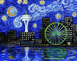 starry night painting over the rhone meaning original for with a twist pittsburgh